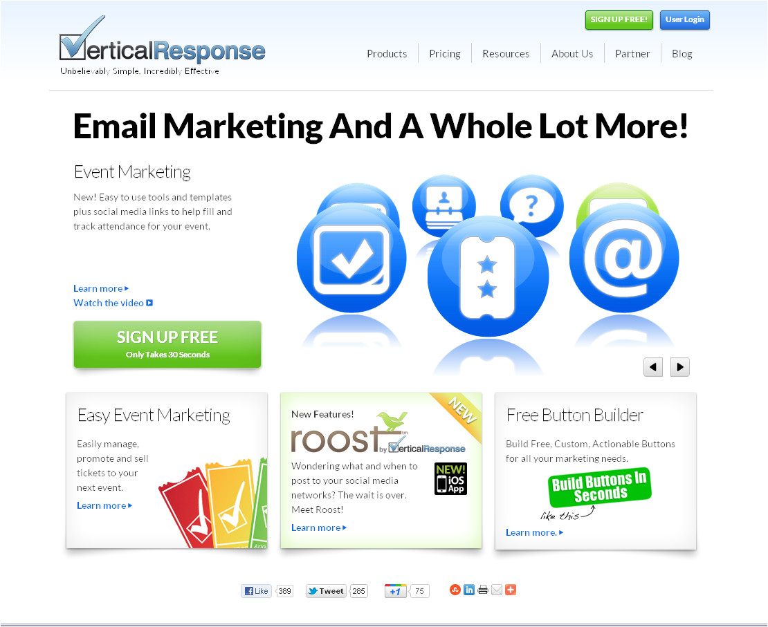 Vertical Response Templates Getresponse Vs Vertical Response A which is the Best One