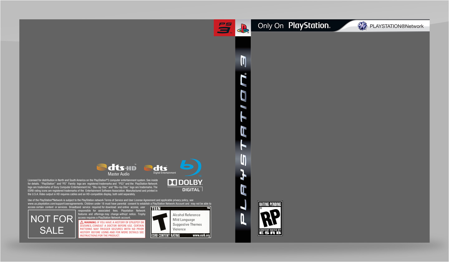 Video Game Cover Template Ps3 Game Cover Template Old by Saikuro On Deviantart