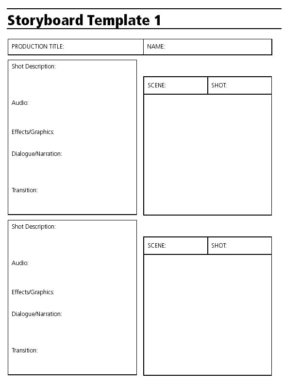 Video Storyboard Template Powerpoint 6 Audio Video Storyboard Templates Free Premium