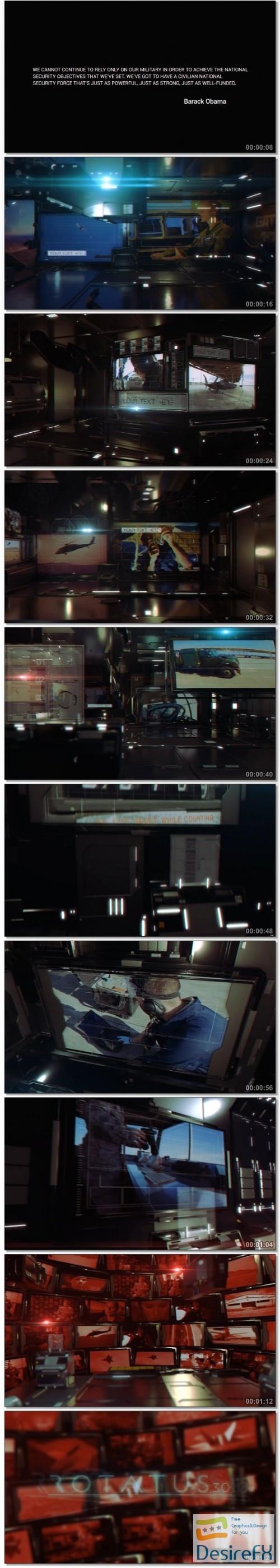 videohive rotatus 3 cinema 4d template 13576095