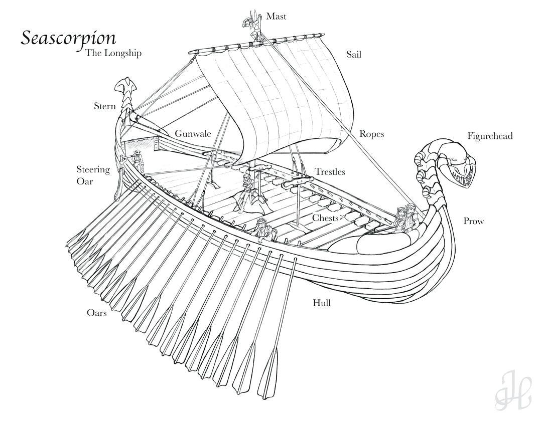 Viking Longship Template Famous Viking Longship Template Images Example Resume