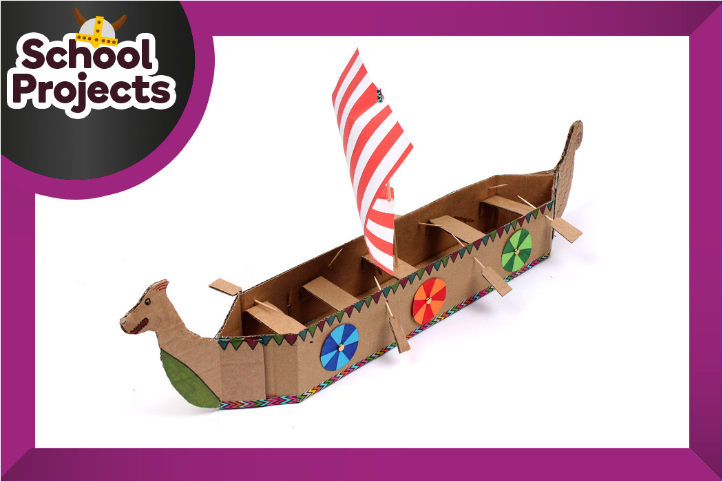 how to make a viking longboat