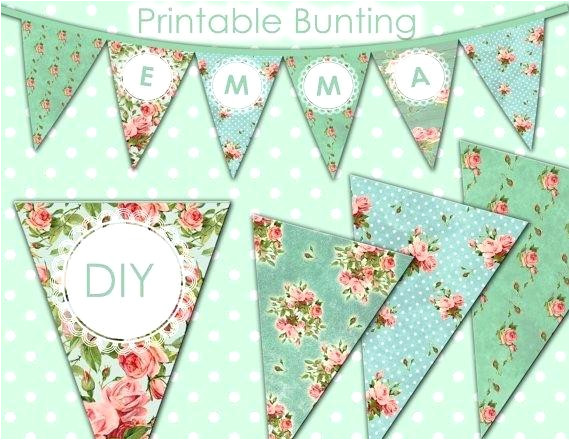 vintage happy birthday card festive banner as bunting flags with letters pattern