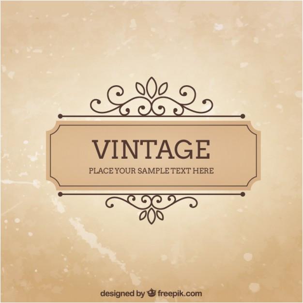 vintage frame template 798836