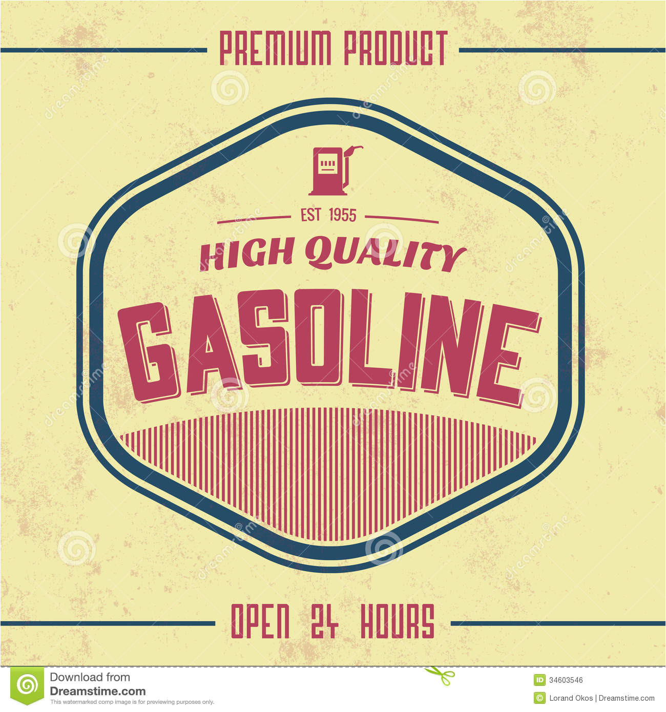 royalty free stock image vintage gasoline sign retro template grunge texture image34603546
