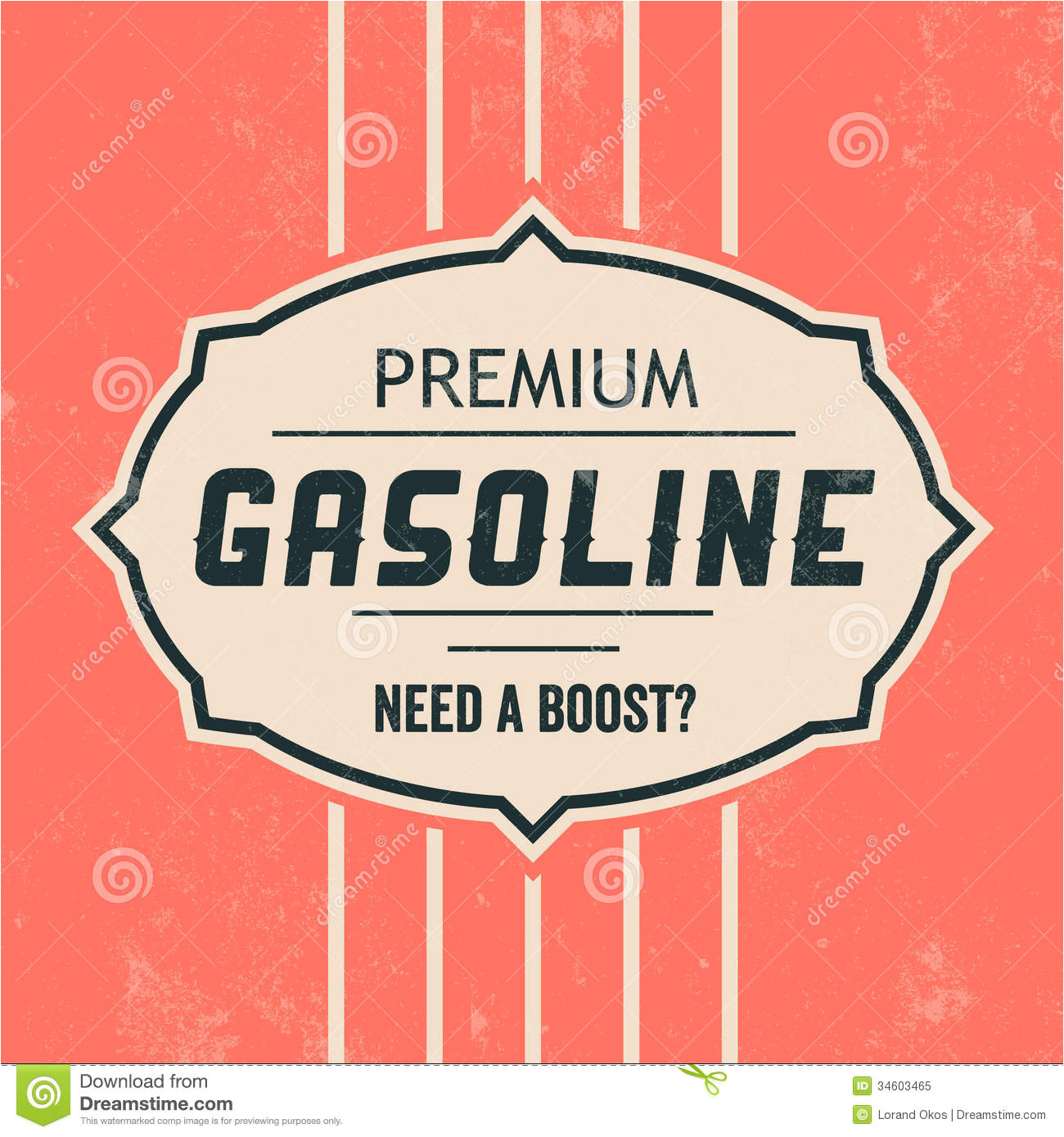 royalty free stock photo vintage gasoline sign retro template grunge texture image34603465