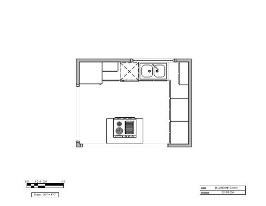 island kitchen layout us units 308