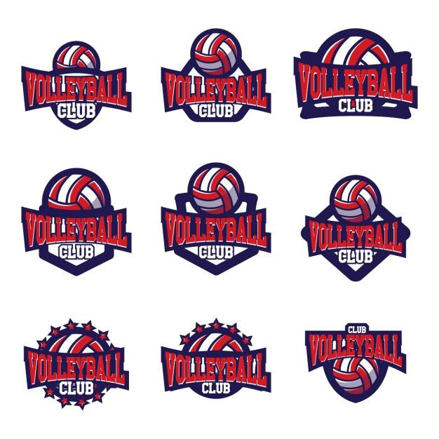 volleyball logo templates design 905008