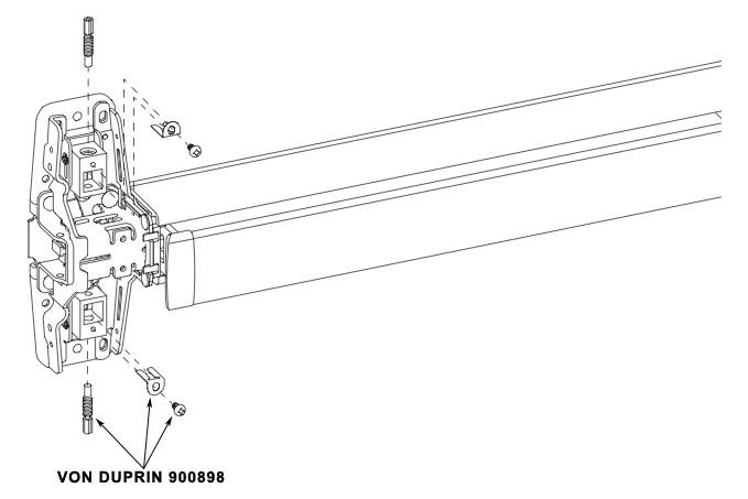 von duprin 900898 989947 adjusting screw lbr package
