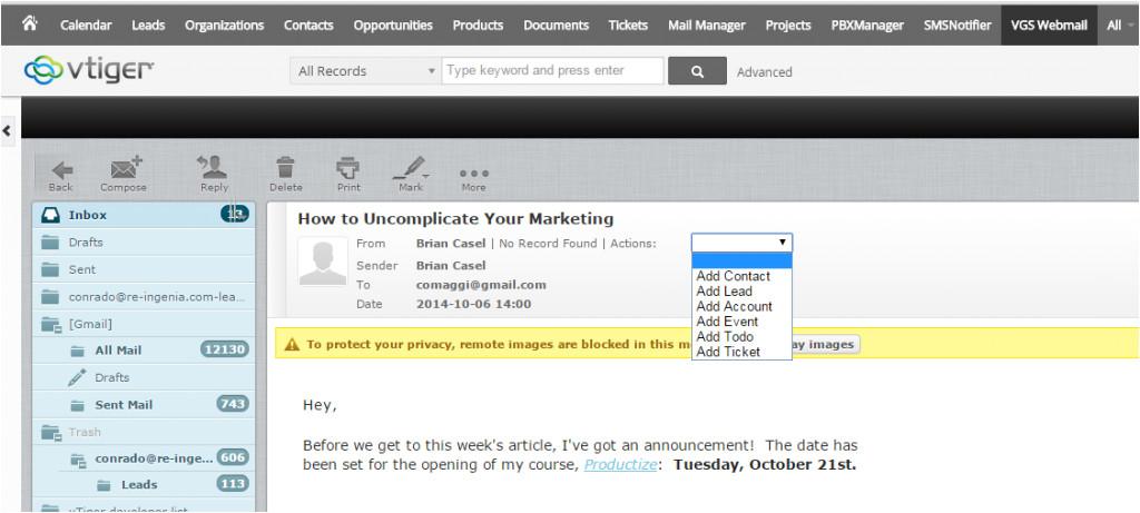 Vtiger Email Templates Vtiger Email Templates Images Template Design Ideas