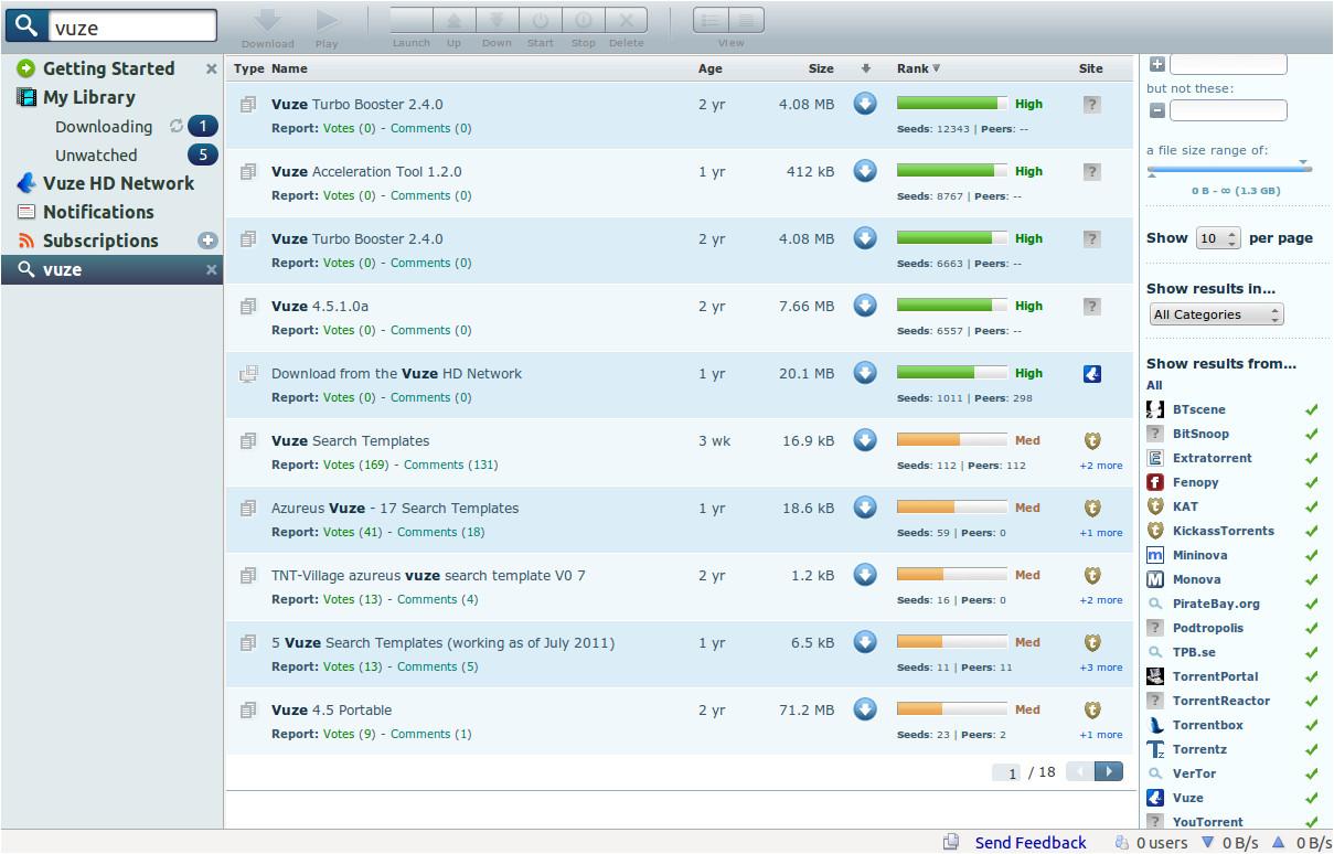 Vuze Search Templates Vuze Search Templates Playbestonlinegames