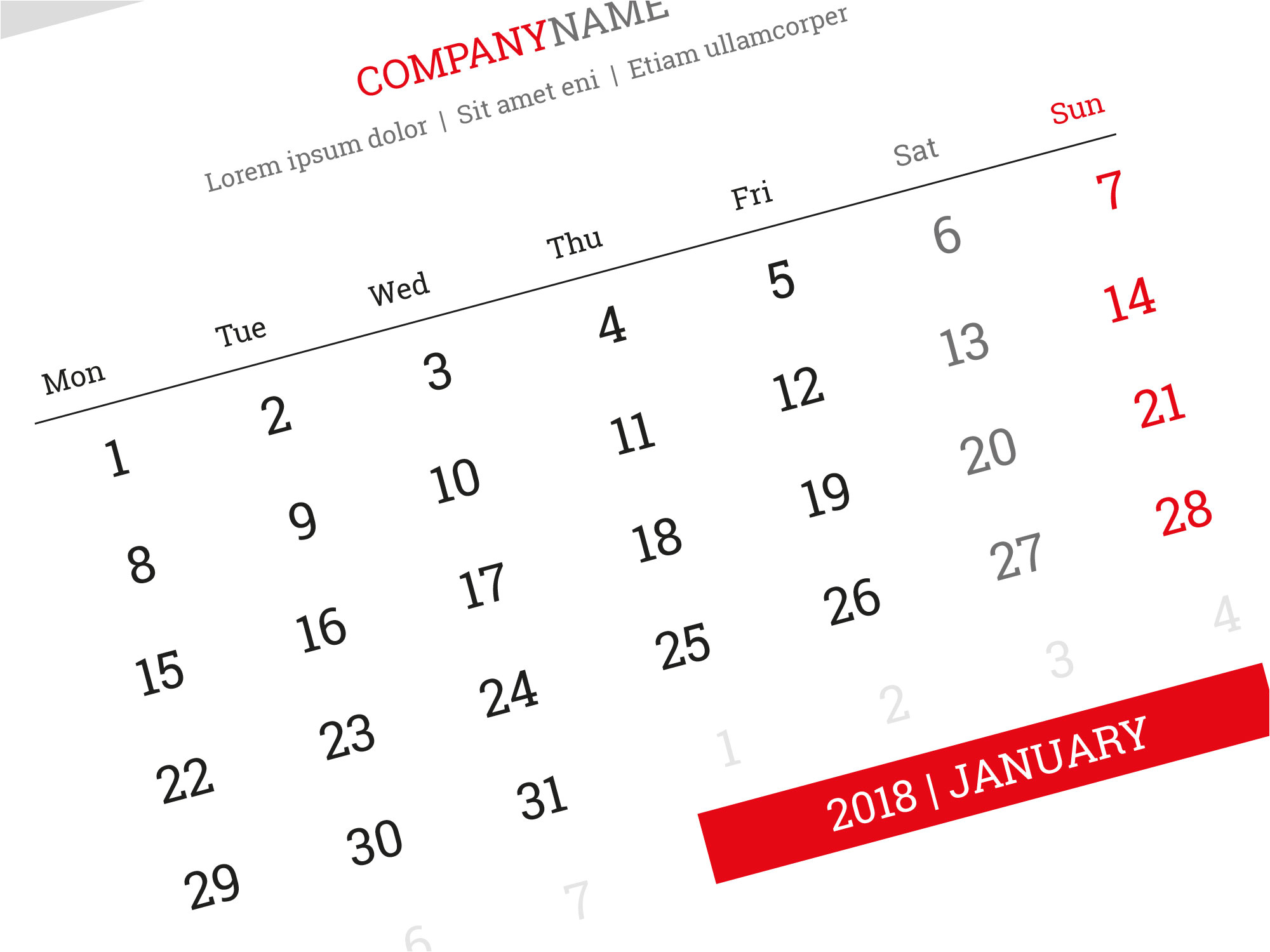 desk calendar kb30 w3 template