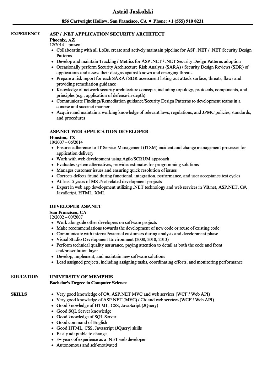 Wcf Resume Sample Mvc Resume Sample Annecarolynbird