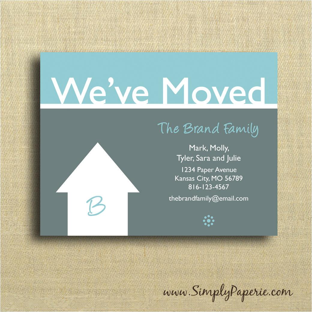 we ve moved cards