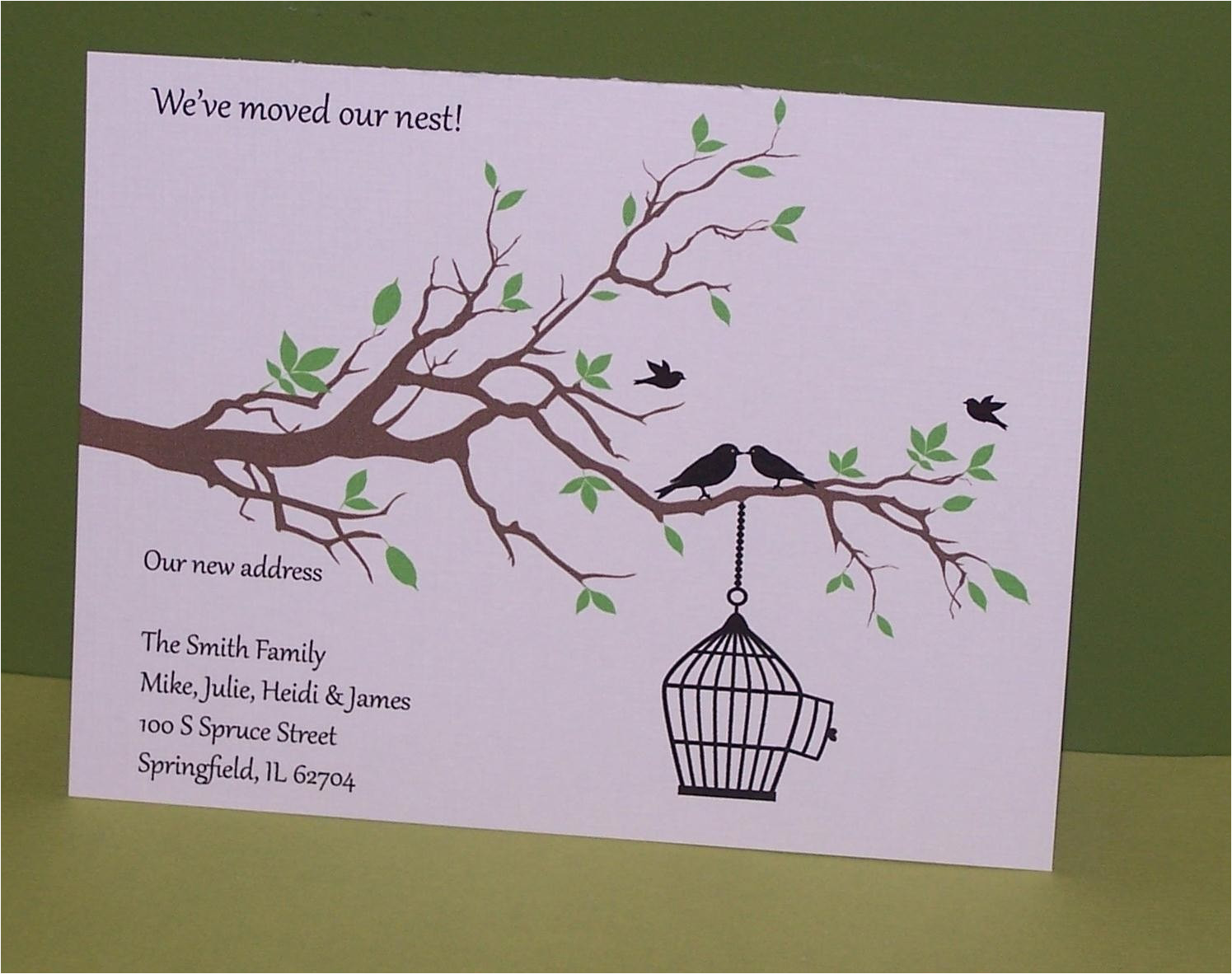 weve moved our nest cards set of 10