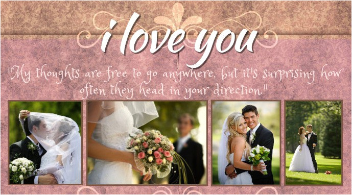 celebrate your wedding anniversary with a photo collage