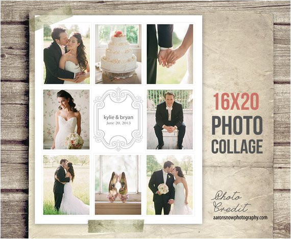 wedding collage blog board wedding photo