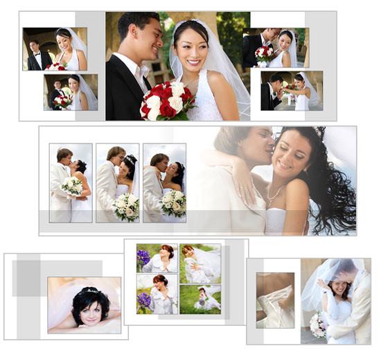 classic white landscape wedding album p 66