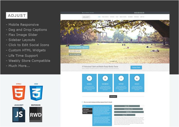 website templates weebly