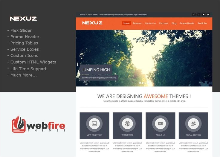 weebly custom templates