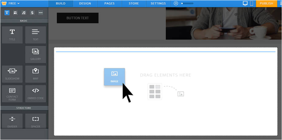 Weebly Drag and Drop Templates Weebly Review 2015 Pros and Cons Of the Weebly Site Builder