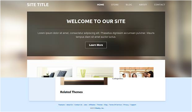 Weebly Templates for Photographers 30 Free Weebly themes Templates Free Premium Templates