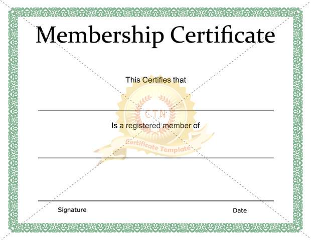 welcome certificate template