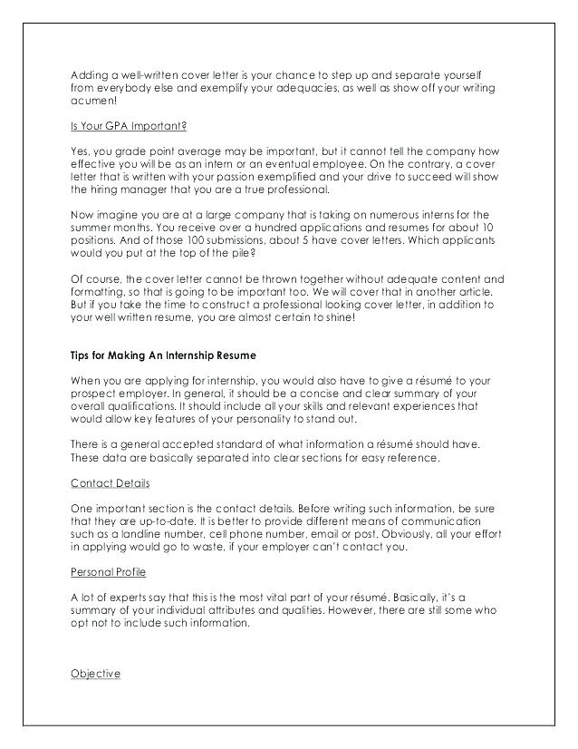 great and well written cover letters