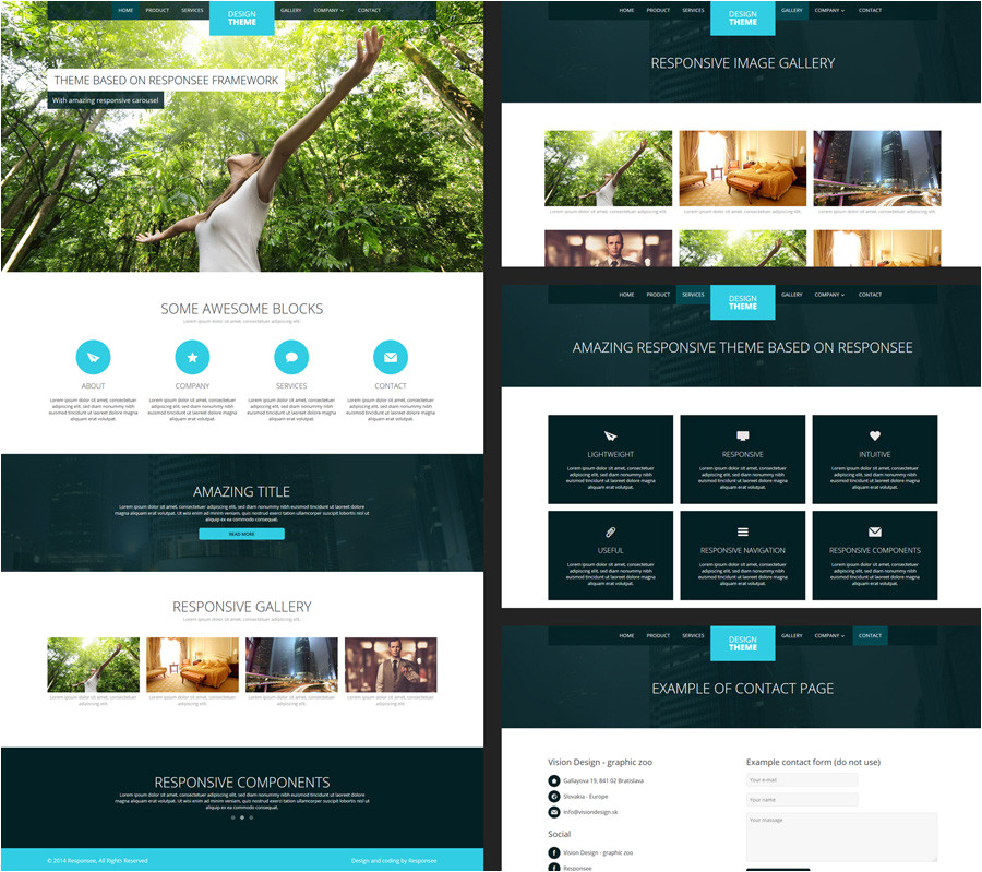 Wesite Templates 15 Free Amazing Responsive Business Website Templates