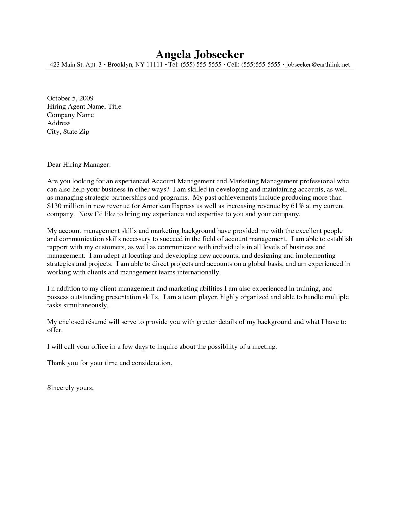 resume cover letter 2839