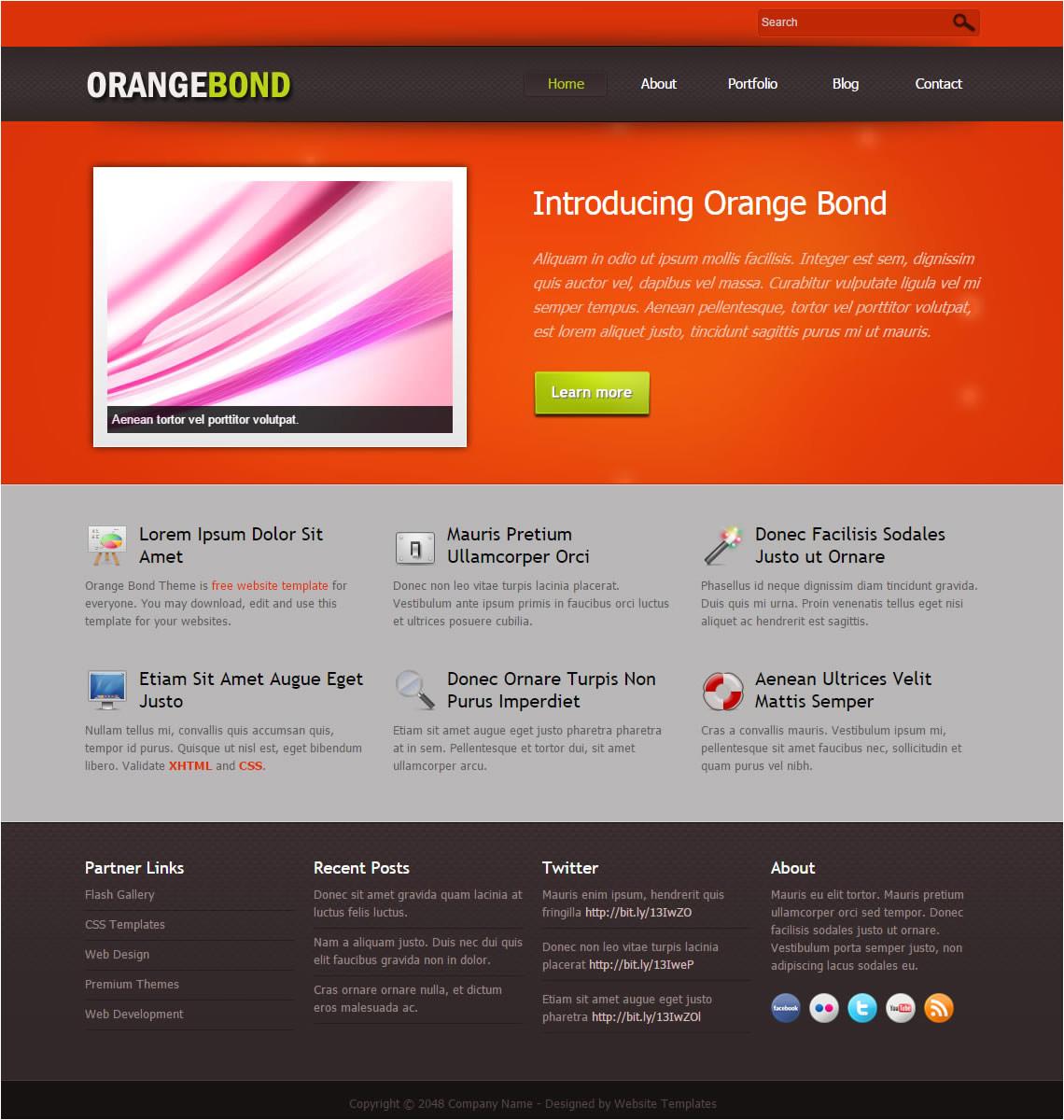 2052 orange bond