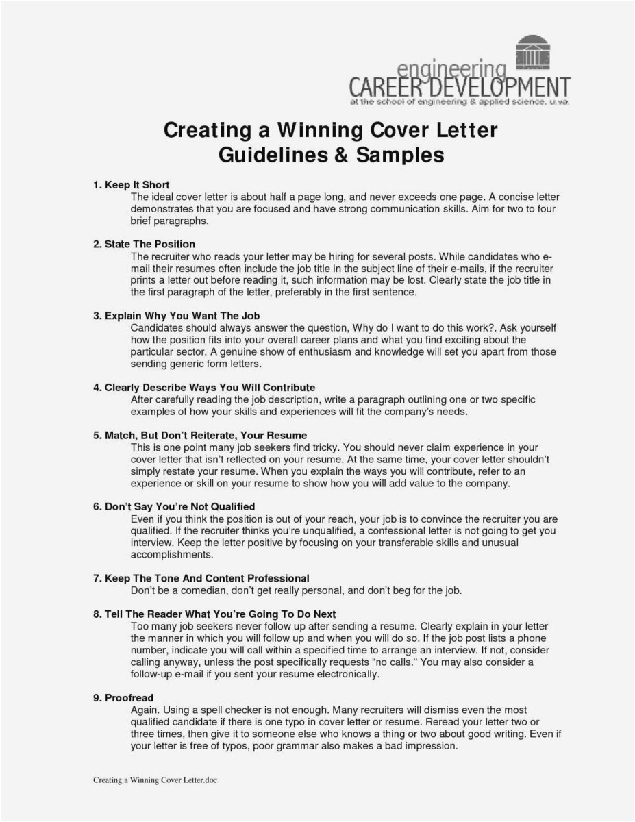 30 what should a cover letter say free download
