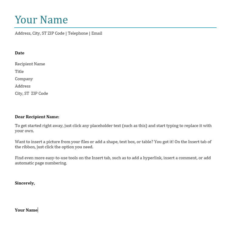 What Do I Write On A Cover Letter How to Write A Cover Letter for A Job Application Wordstream