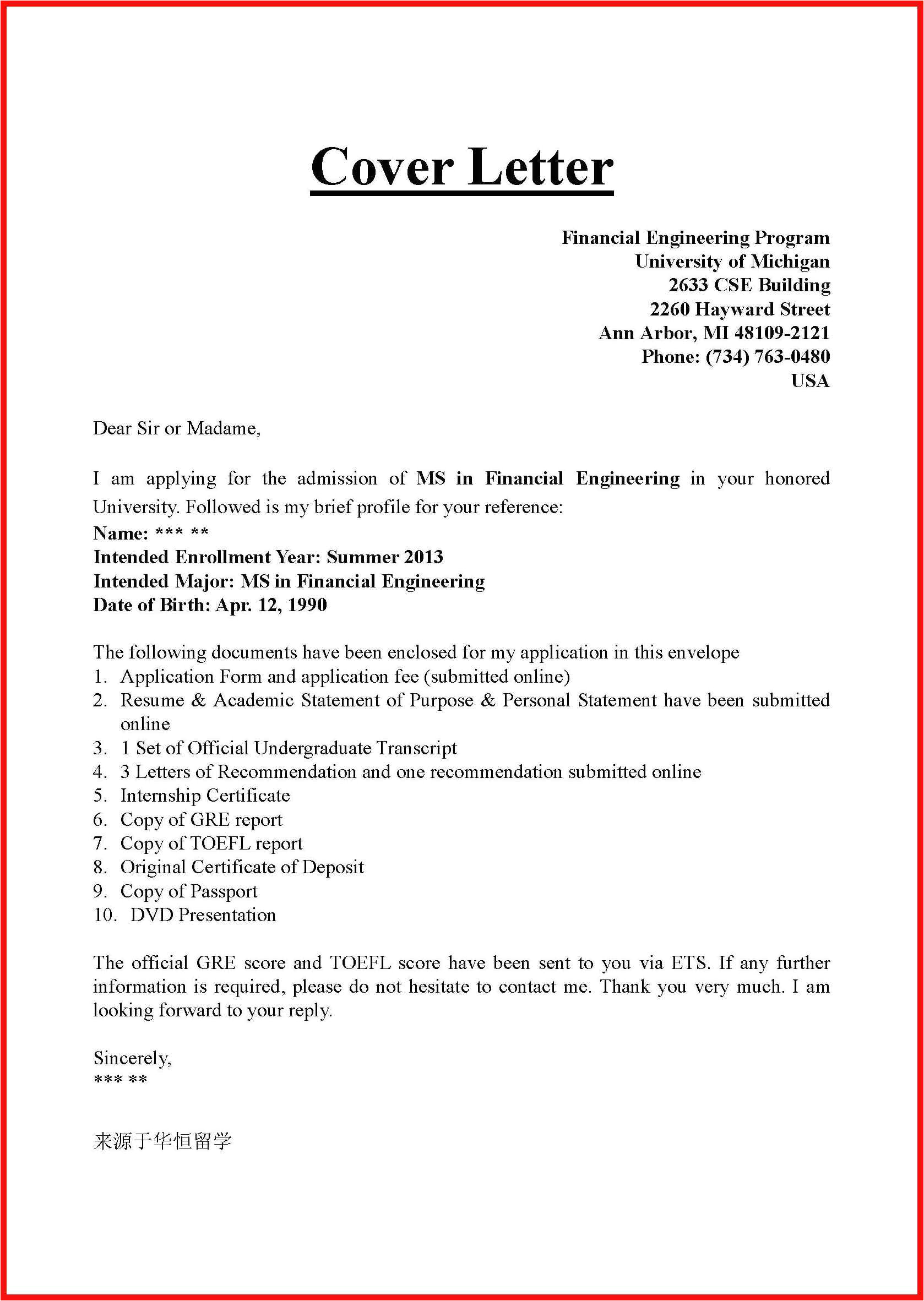 What is A Cover Letter Used for What 39 S On A Cover Letter Apa Example