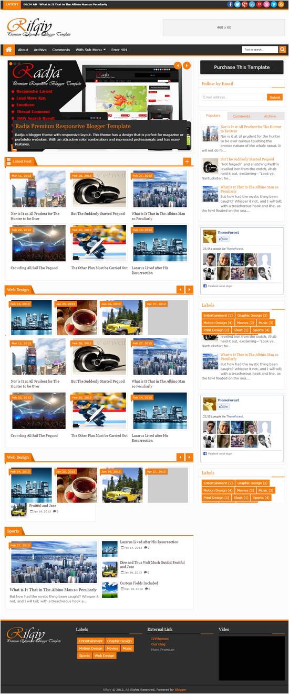 rifqiy responsive premium blogger template
