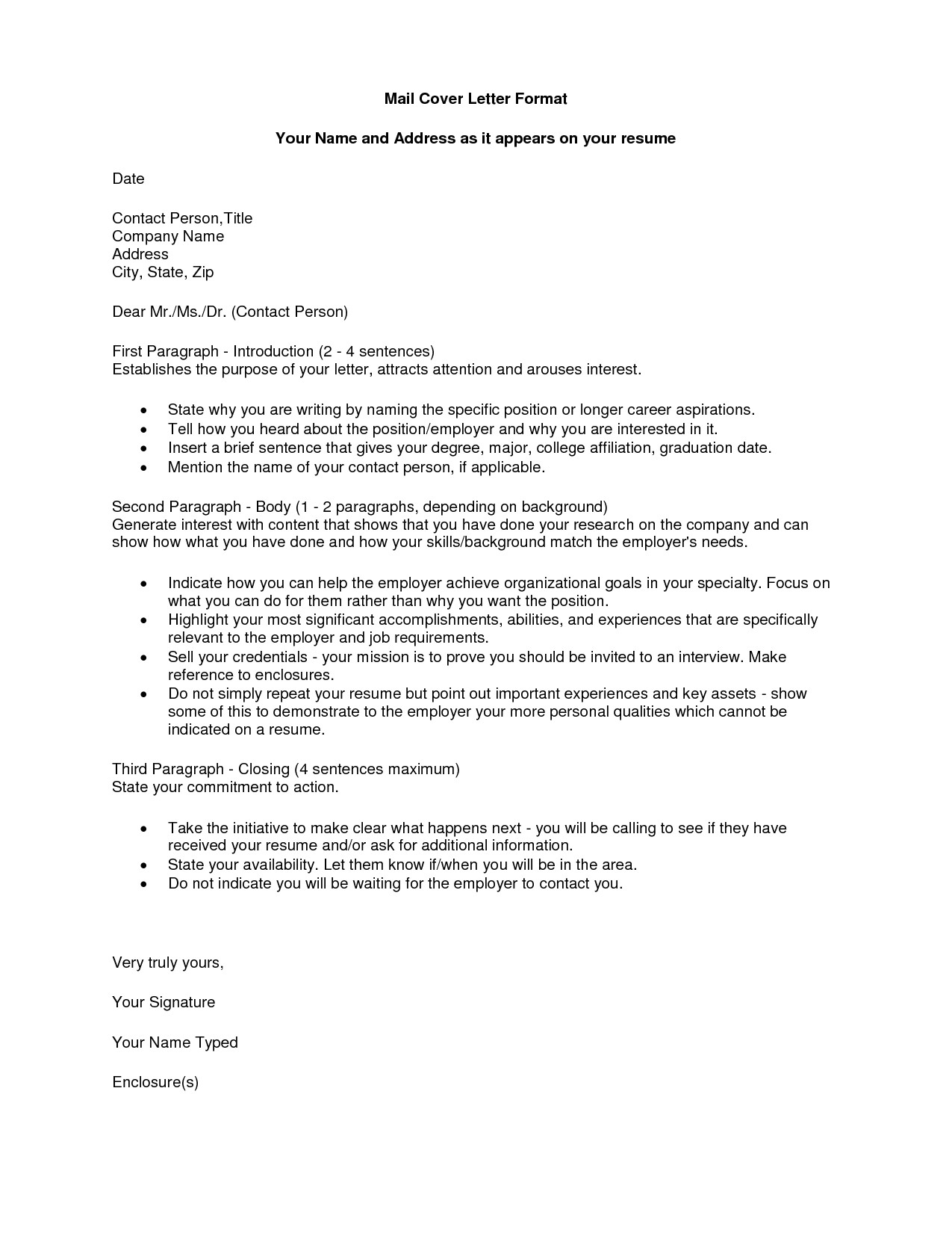 What is An Enclosure On A Cover Letter Academic Proofreading Encl Cover Letter