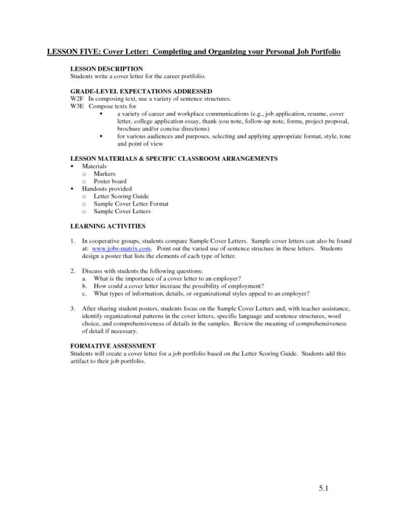 what does cover letter mean 2740