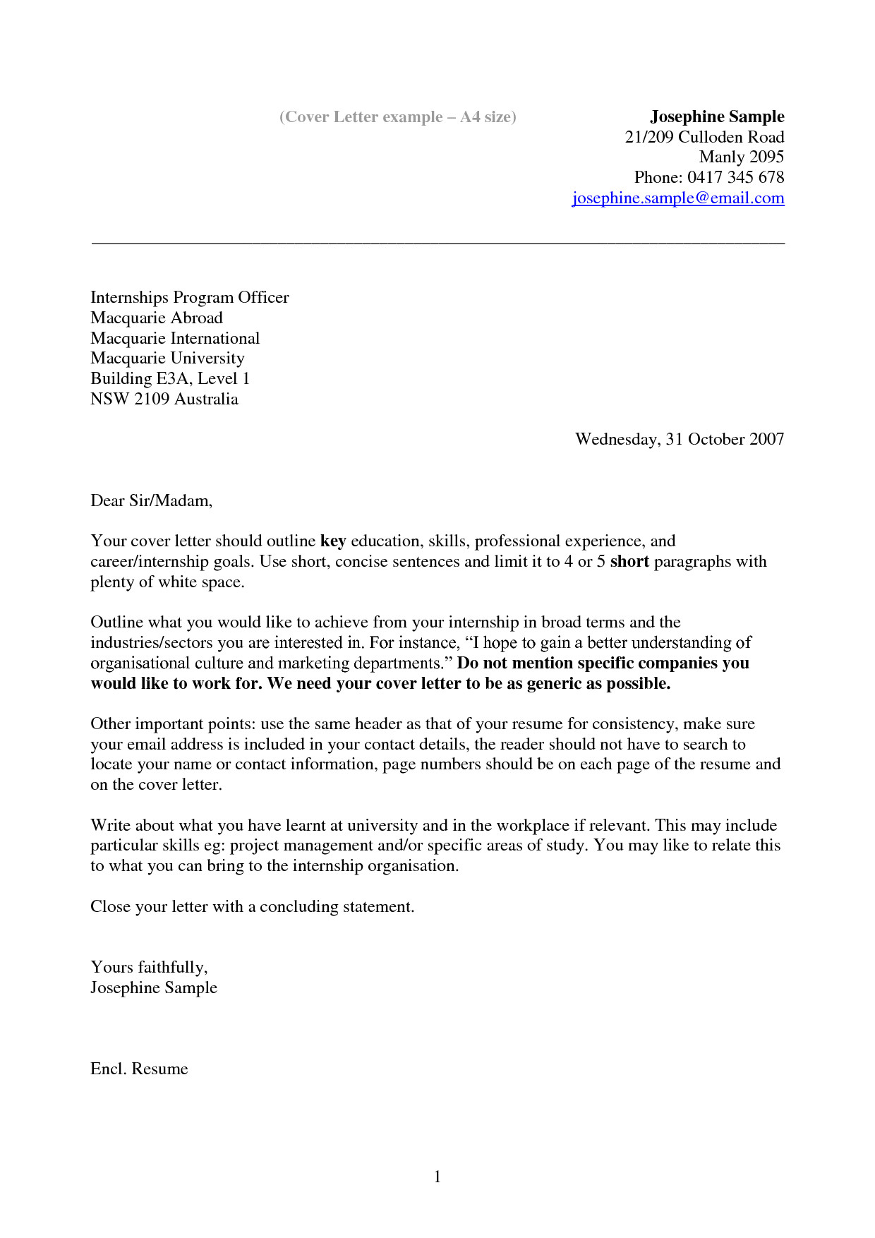 resume cover letter examples 3548