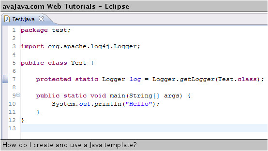 What is Template In Java How Do I Create and Use A Java Template Web Tutorials