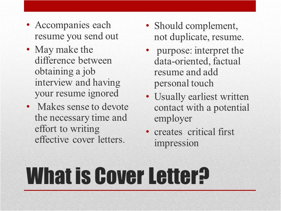 What is the Difference Between Cv and Cover Letter From Alison Doyle On About Com Ppt Video Online Download