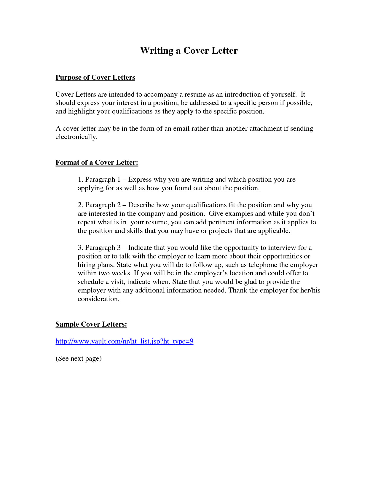 What is the Purpose Of A Good Cover Letter Purpose Of A Cover Letter Crna Cover Letter