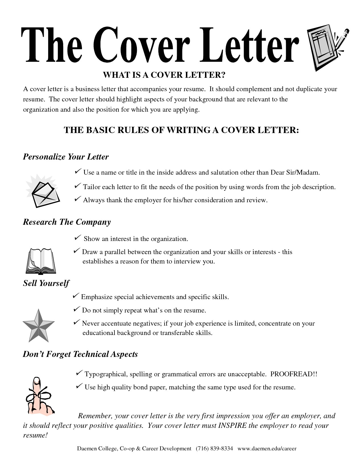 whats in a cover letter 2809