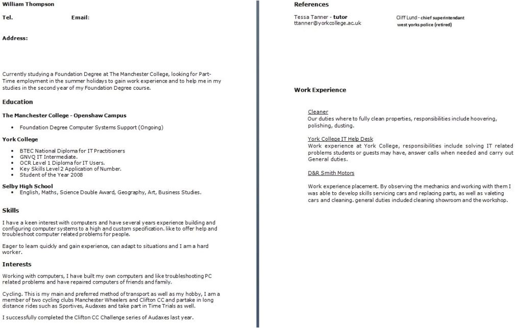 what to put in a cover letter