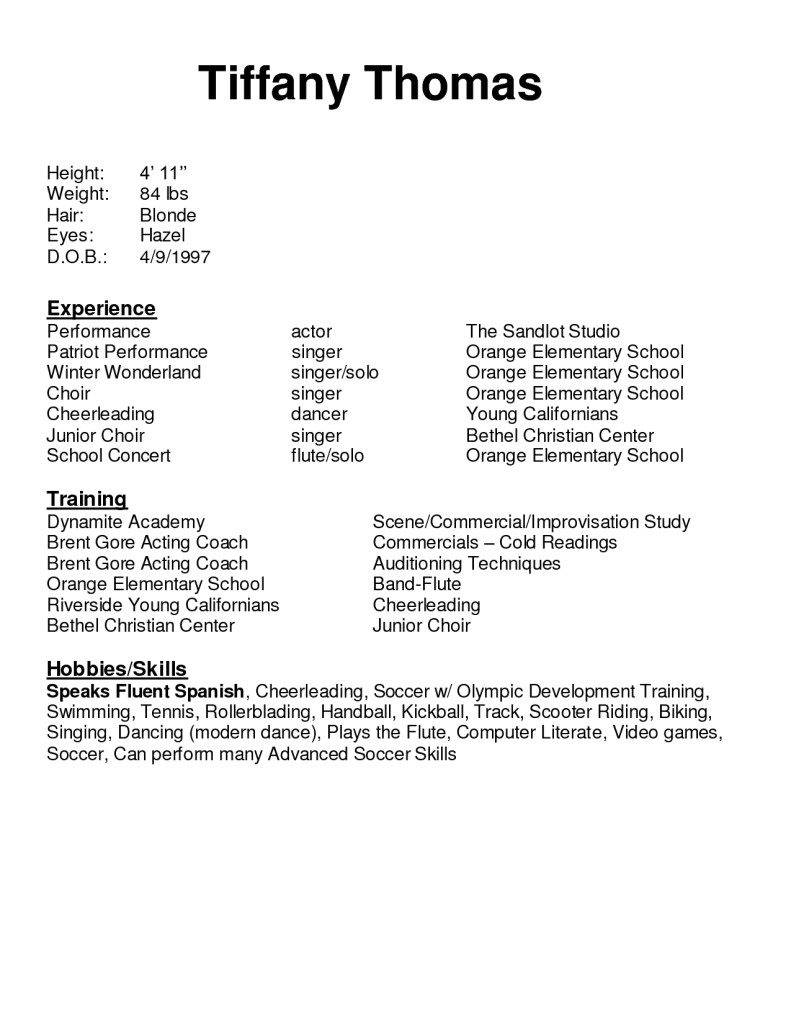 best things to say on resume