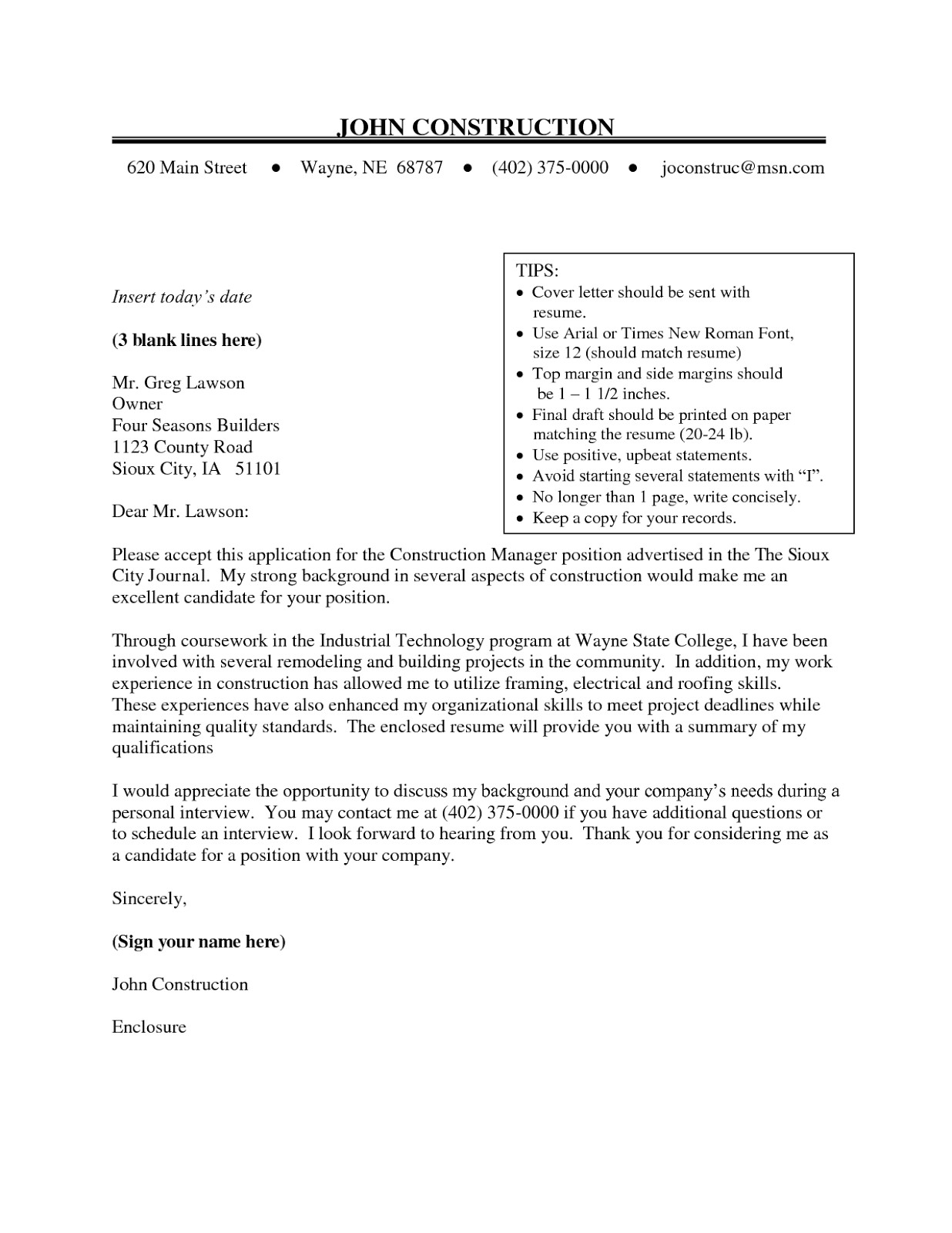 font size resume 2016
