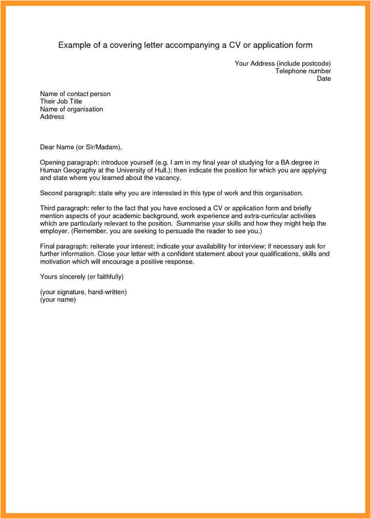what to put on a resume cover letter
