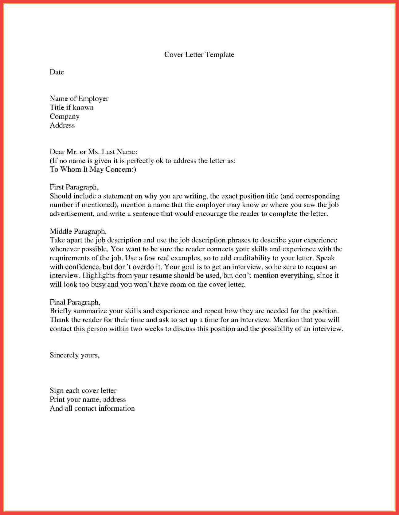 how to start a cover letter