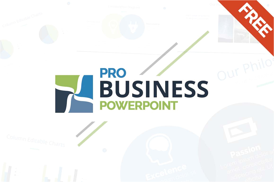 free business powerpoint template 2