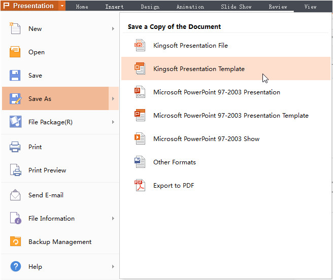 343 save ppt as template office 2013
