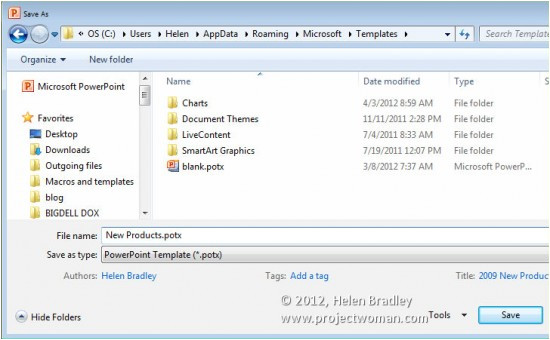 Where to Save Powerpoint Templates Office 2010 How to Save Files as Templates